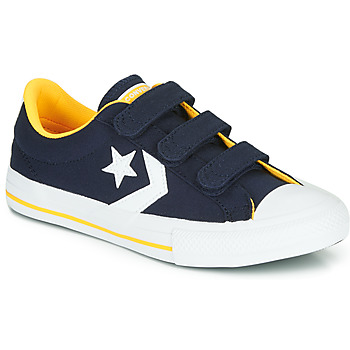 Schuhe Jungen Sneaker Low Converse Star Player 3V Varsity Canvas Blau