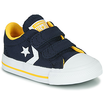 Schuhe Jungen Sneaker Low Converse Star Player 2V Varsity Canvas Blau