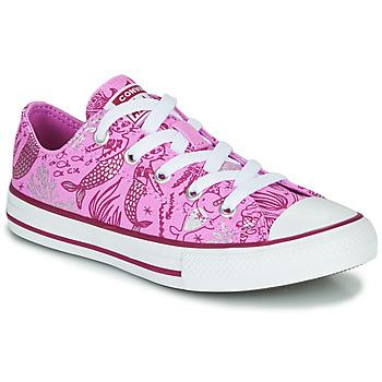 Schuhe Mädchen Sneaker High Converse CHUCK TAYLOR ALL STAR UNDERWATER PARTY Rose