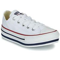 Schuhe Mädchen Sneaker High Converse CHUCK TAYLOR ALL STAR PLATFORM EVA EVERYDAY EASE Weiss