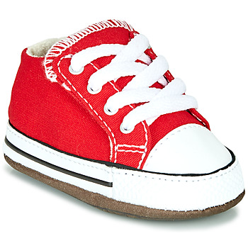 Schuhe Kinder Sneaker High Converse CHUCK TAYLOR ALL STAR CRIBSTER CANVAS COLOR Rot