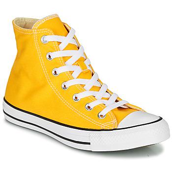 Schuhe Damen Sneaker High Converse CHUCK TAYLOR ALL STAR SEASONAL COLOR Gelb