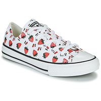 Schuhe Kinder Sneaker Low Converse CHUCK TAYLOR ALL STAR SPRING FRUITS Weiss / Rot