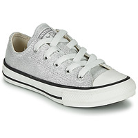 Schuhe Kinder Sneaker Low Converse CHUCK TAYLOR ALL STAR SUMMER SPARKLE Grau
