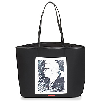 karl lagerfeld -   Shopper KARL LEGEND CANVAS TOTE