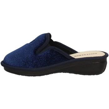 Schuhe Damen Hausschuhe Valleverde 37207 Blau