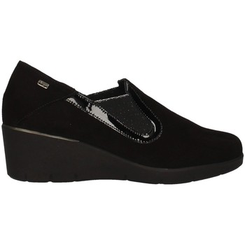 Schuhe Damen Slipper Valleverde V17361 BLACK