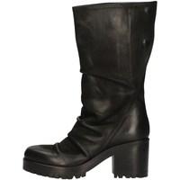 Schuhe Damen Klassische Stiefel Strategia A4186 BLACK