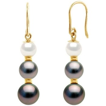 Uhren Damen Ohrringe Blue Pearls BPS K623 W Gold