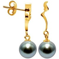 Uhren & Schmuck Damen Ohrringe Blue Pearls BPS K622 W Gold
