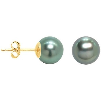 Uhren & Schmuck Damen Ohrringe Blue Pearls BPS K620 W Gold