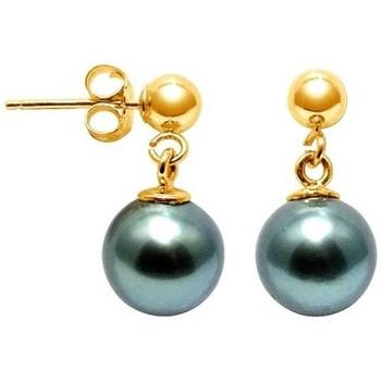 Uhren Damen Ohrringe Blue Pearls BPS K621 W Gold