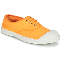 Schuhe Damen Sneaker Low Bensimon TENNIS LACET Orange