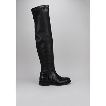 Schuhe Damen Kniestiefel Roberto Torretta  Schwarz