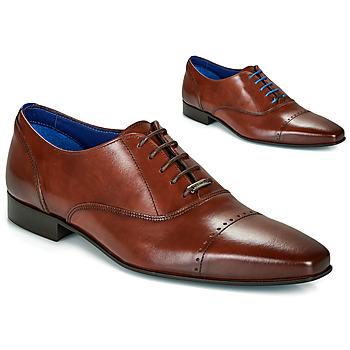 Schuhe Herren Richelieu Azzaro DOGME Cognac