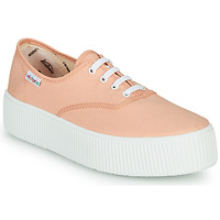 Schuhe Damen Sneaker Low Victoria DOBLE LONA Korallenrot