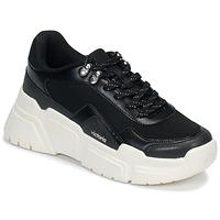 Schuhe Damen Sneaker Low Victoria TOTEM Schwarz / Weiss