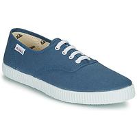 Schuhe Sneaker Low Victoria INGLESA LONA Blau