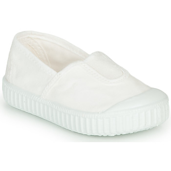 Schuhe Mädchen Sneaker Low Victoria CAMPING TINTADO Weiss