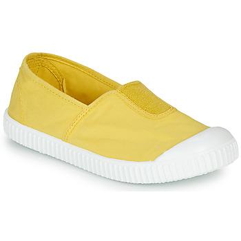 Schuhe Mädchen Sneaker Low Victoria CAMPING TINTADO Gelb