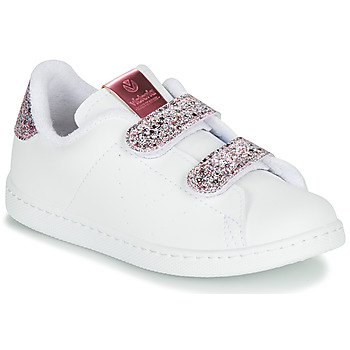 Schuhe Mädchen Sneaker Low Victoria TENIS VELCRO G Weiss