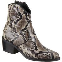 Schuhe Damen Boots Alpe Stiefeletten Stiefel 4565.58.96 animal