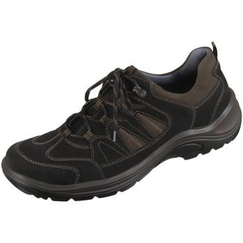 Schuhe Herren Fitness / Training Waldläufer Sportschuhe 415007-691-742 schwarz