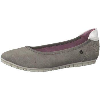 Schuhe Damen Ballerinas S.Oliver Halbschuhe [J 55 42403 22 218 grau
