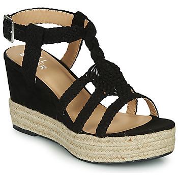 Schuhe Damen Sandalen / Sandaletten Bullboxer 175018F2T Schwarz