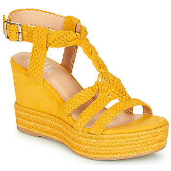 Schuhe Damen Sandalen / Sandaletten Bullboxer 175018F2T Gelb