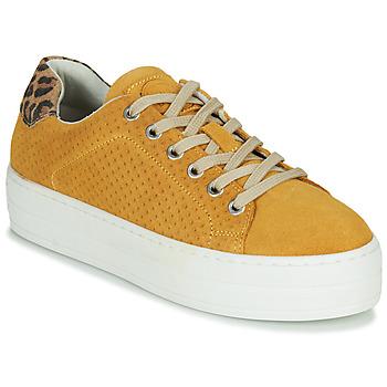 Schuhe Damen Sneaker Low Bullboxer 987033E5C Gelb