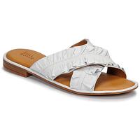 Schuhe Damen Pantoffel Bullboxer 510000T1L Weiss