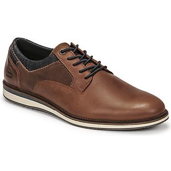 Schuhe Herren Derby-Schuhe Bullboxer THOMAS Braun
