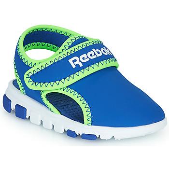 Schuhe Jungen Sandalen / Sandaletten Reebok Sport WAVE GLIDER III Blau / Grün