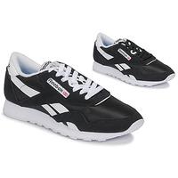 Schuhe Sneaker Low Reebok Classic CL NYLON Schwarz