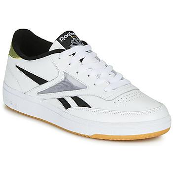 Schuhe Damen Sneaker Low Reebok Classic CLUB C REVENGE MARK Weiss / Gold