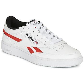 Schuhe Sneaker Low Reebok Classic CLUB C REVENGE MU Weiss / Rot