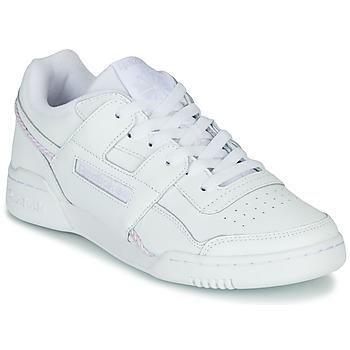 Schuhe Damen Sneaker Low Reebok Classic WORKOUT LO PLUS Weiss