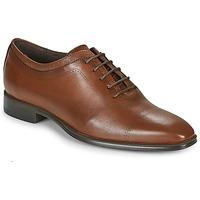 Schuhe Herren Richelieu Carlington MINEA Cognac