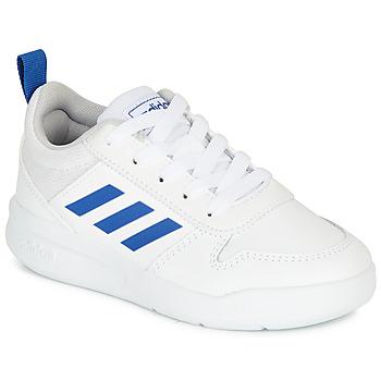 Schuhe Jungen Sneaker Low adidas Performance TENSAUR K Weiss / Blau