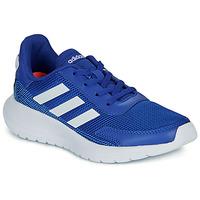 Schuhe Jungen Sneaker Low adidas Performance TENSAUR RUN K Blau / Weiss