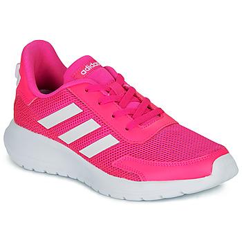 Schuhe Mädchen Sneaker Low adidas Performance TENSAUR RUN K Rose / Weiss