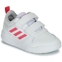 Schuhe Mädchen Sneaker Low adidas Performance TENSAUR C Weiss / Rose