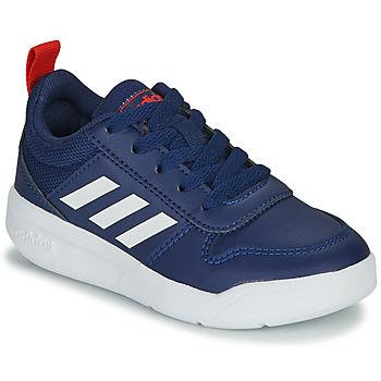 Schuhe Kinder Sneaker Low adidas Performance TENSAUR K Blau / Weiss