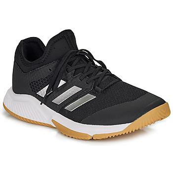 Schuhe Herren Tennisschuhe adidas Performance COURT TEAM BOUNCE M Schwarz / Weiss
