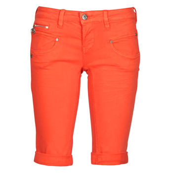 Kleidung Damen Shorts / Bermudas Freeman T.Porter BELIXA NEW MAGIC COLOR Orange