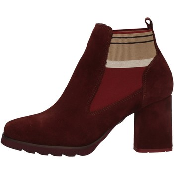 Schuhe Damen Low Boots CallagHan 25704 Rot
