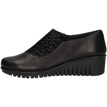 Schuhe Damen Slipper The Flexx E4019-07 BLACK