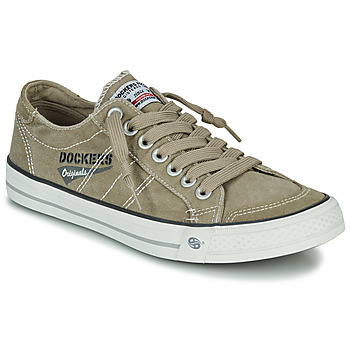 Schuhe Herren Sneaker Low Dockers by Gerli  Kaki