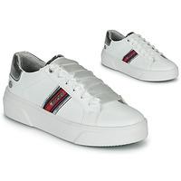 Schuhe Damen Sneaker Low Dockers by Gerli 46BK204-591 Weiss